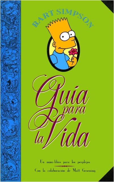 Guía para la vida de Bart Simpson Portada
