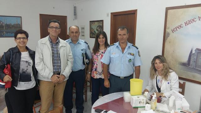 """Εθελοντική Αιμοδοσία στην Τρίπολη από το Σύλλογο""""Άξιον Εστί"""""""