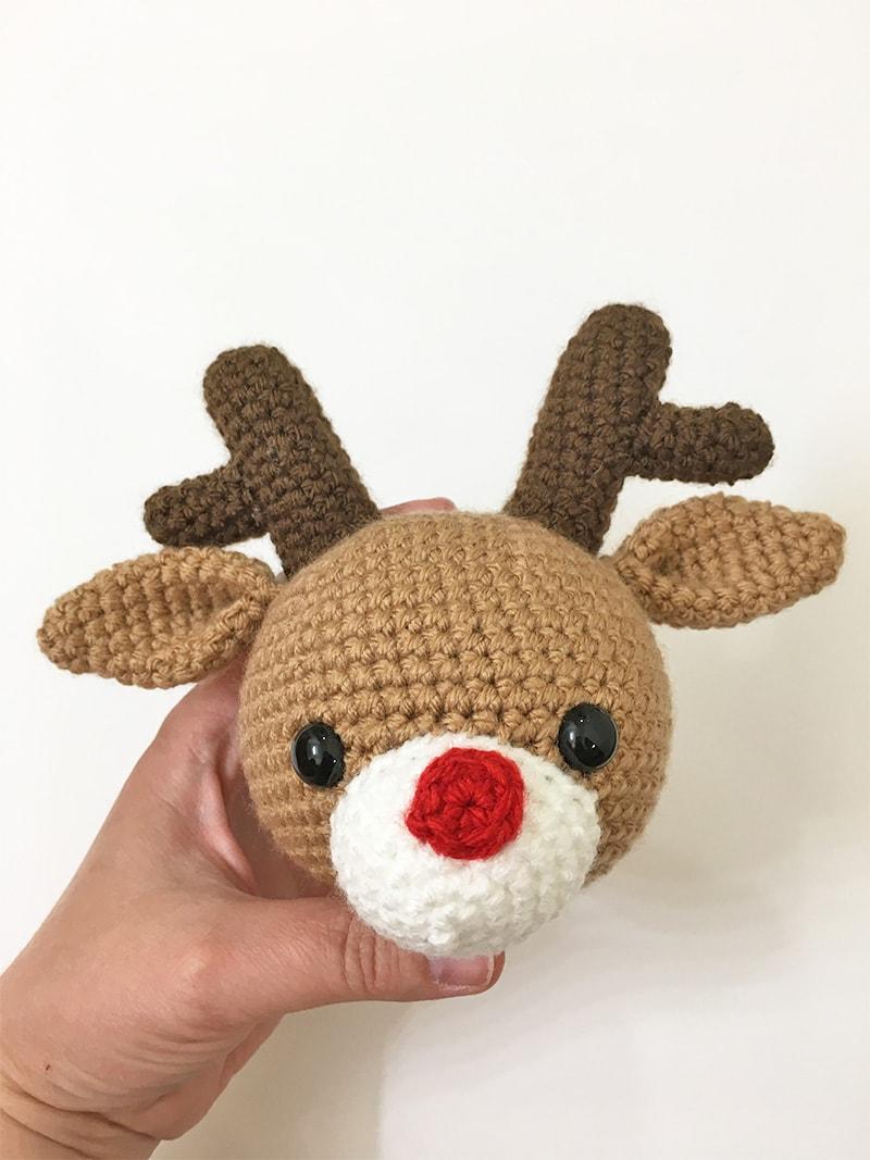 Ravelry: Crocheted Reindeer, based on