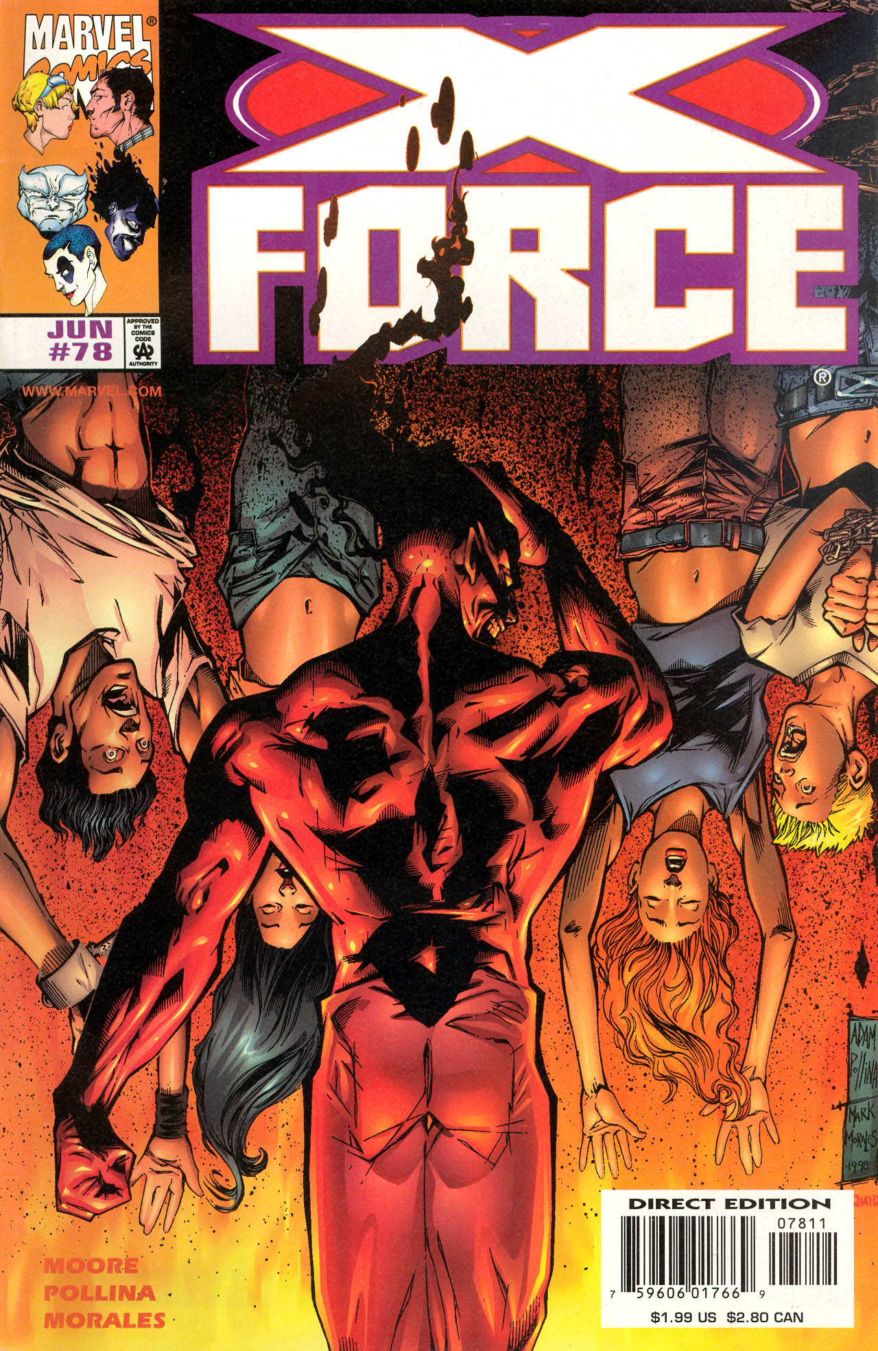 X-Force (1991) 78 Page 1