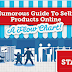 A Humorous Guide to Selling Products Online Infographic