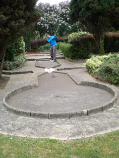 Crazy Golf at the Abbey Meadows in Abingdon