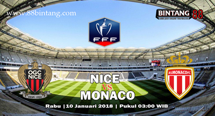 Prediksi Nice vs Monaco 10 Januari 2018