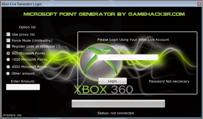 Microsoft points generator easy download - Le bon coin 63