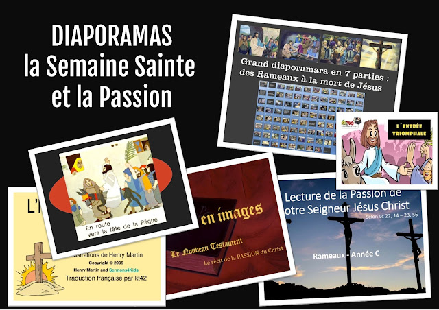 Diaporamas : la semaine sainte, la Passion