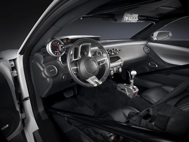2013 Chevrolet COPO Camaro Convertible Interior