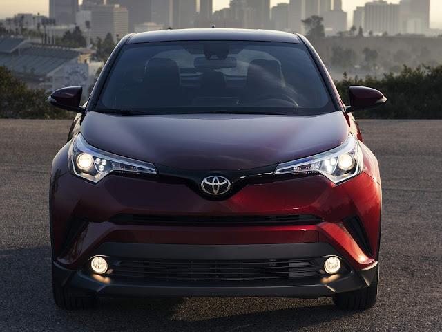 Toyota C-HR - concorrente Honda HR-V