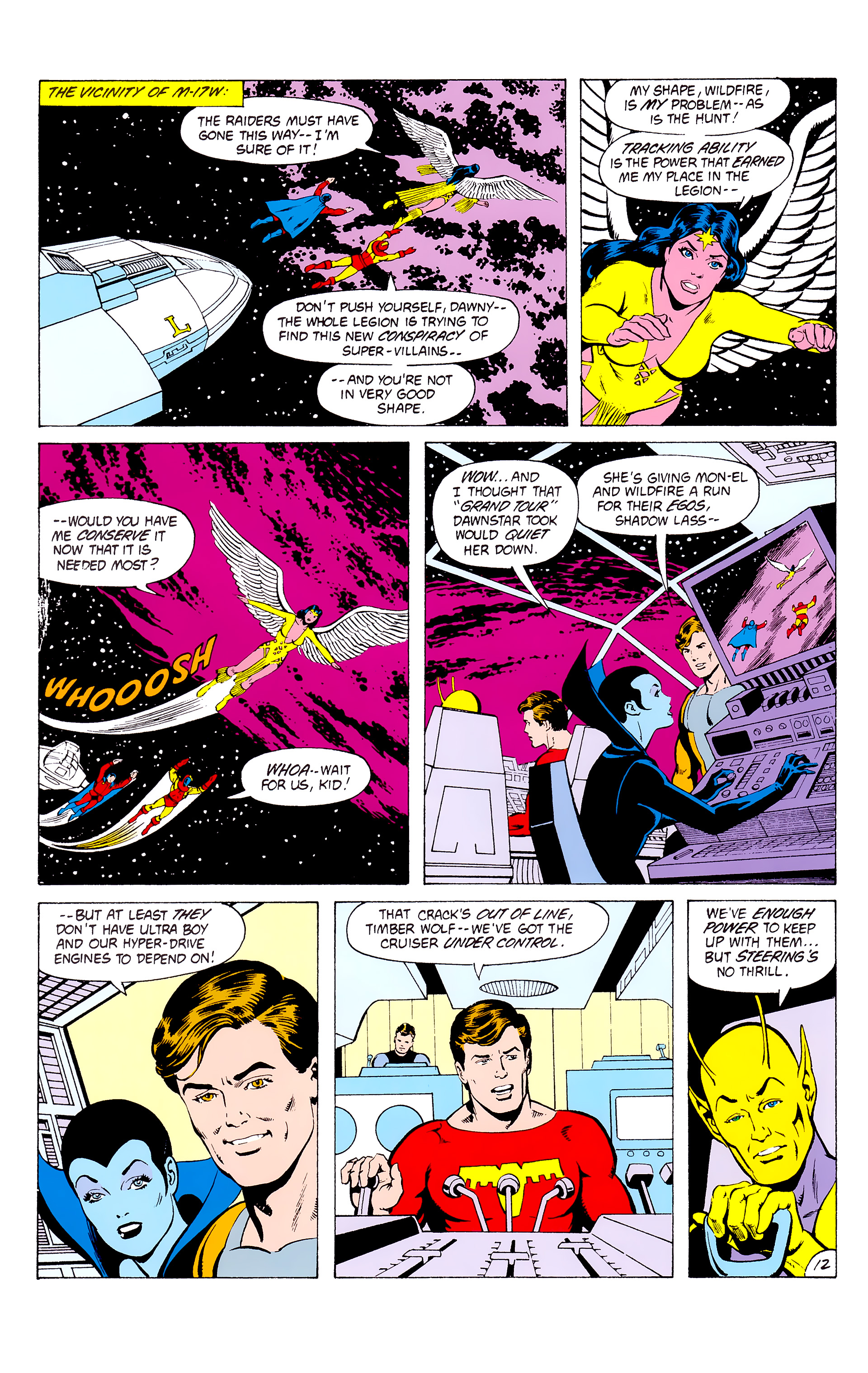 Legion of Super-Heroes (1980) _Annual_3 Page 12