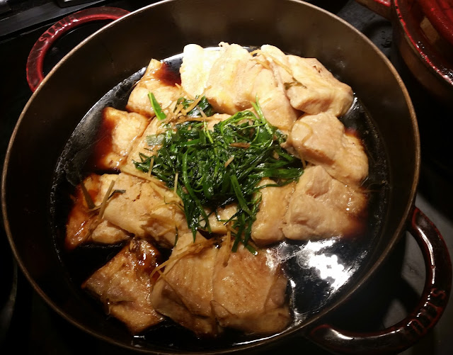 Steamed Fish with Soya Sauce