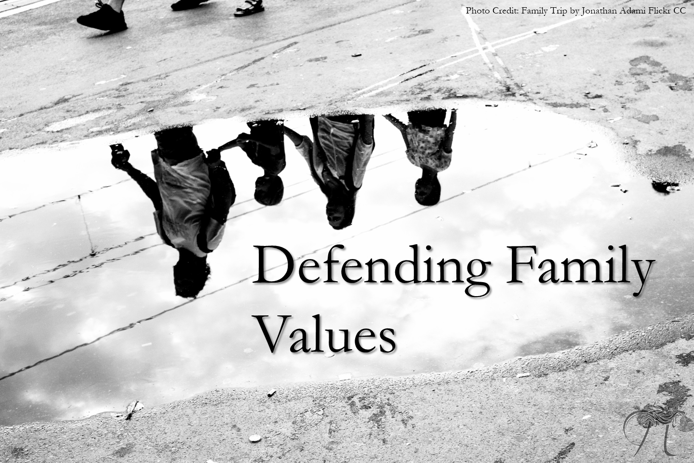 Family gay lesbian marriage values