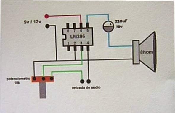 ISRAELCOM-ABDON : Mini Amplificador de Audio casero