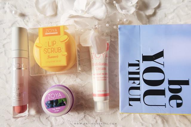 Review Produk Zoya Cosmetics Anisa Firdausi