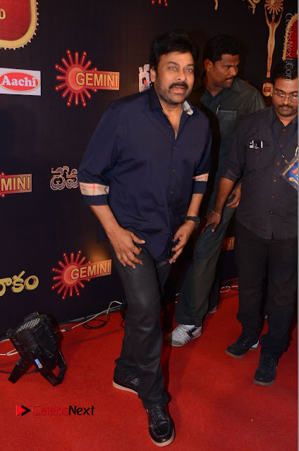 Chiranjeevi Stills at Gemini TV Puraskaralu Event  0003.JPG
