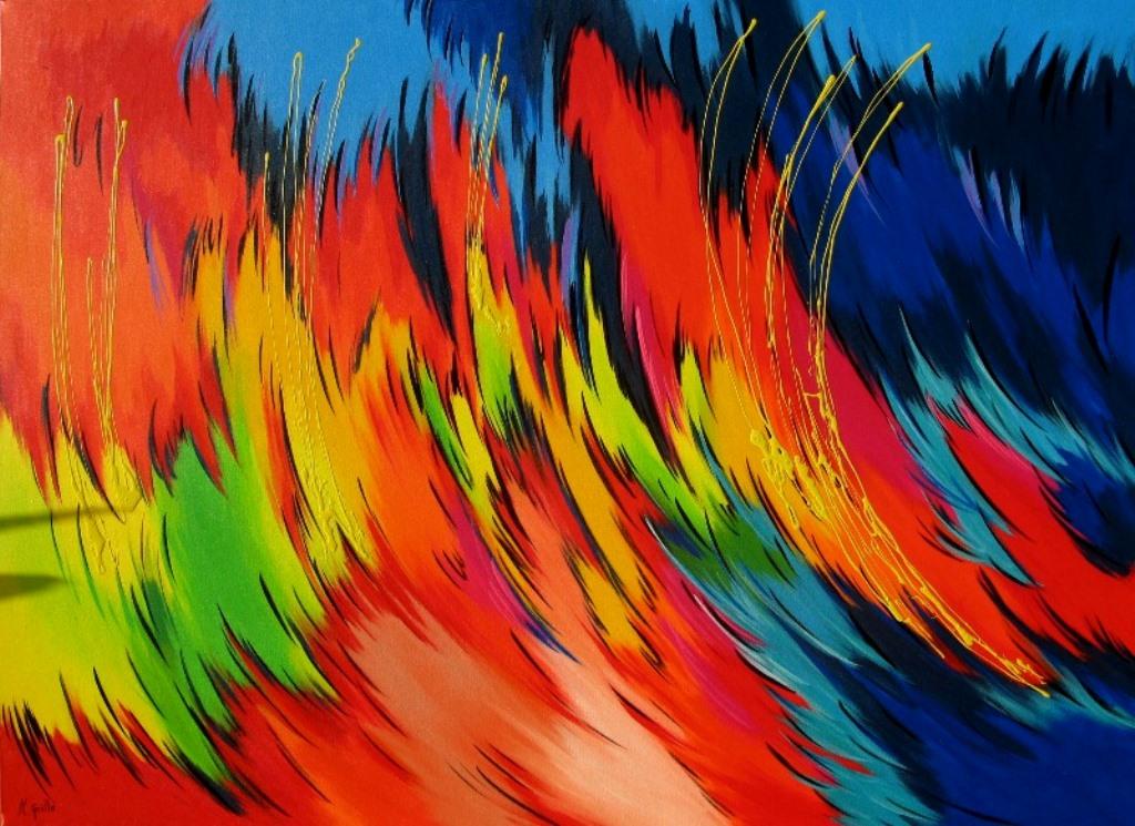 Cuadros modernos pinturas y dibujos cuadros abstractos for Imagenes de cuadros abstractos rusticos