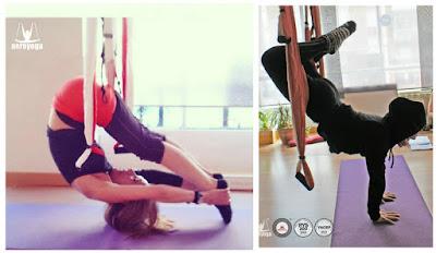 Yoga, Columpio, ESpaña, swing , hamaca, trapeze, hamac, acro, flty, flying