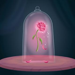 kailijumei labial mágico transparente flor rosa Bella Bestia