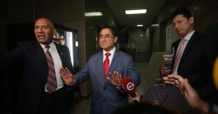 NO ES BROMA: Suspendido Juez César Hinostroza dice que la «Señora K» es el Congresista fujimorista «Miki Torres»
