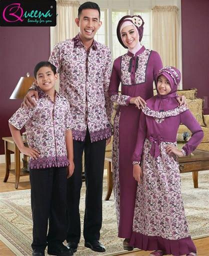 Model Baju Muslim Seragam Keluarga Untuk Pesta Pernikahan Terbaru