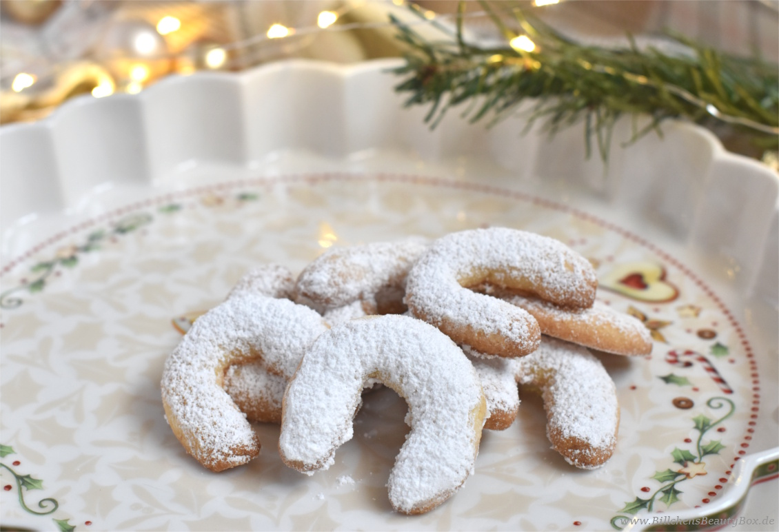 Weihnachtsbäckerei - Mein liebstes Rezept für Vanillekipferl - Nussig und lecker