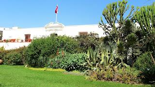 Os Fundos do Museo Larco Herrera, em Lima