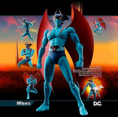 Devilman di Go Nagai in versione Dynamic Classics da Bandai