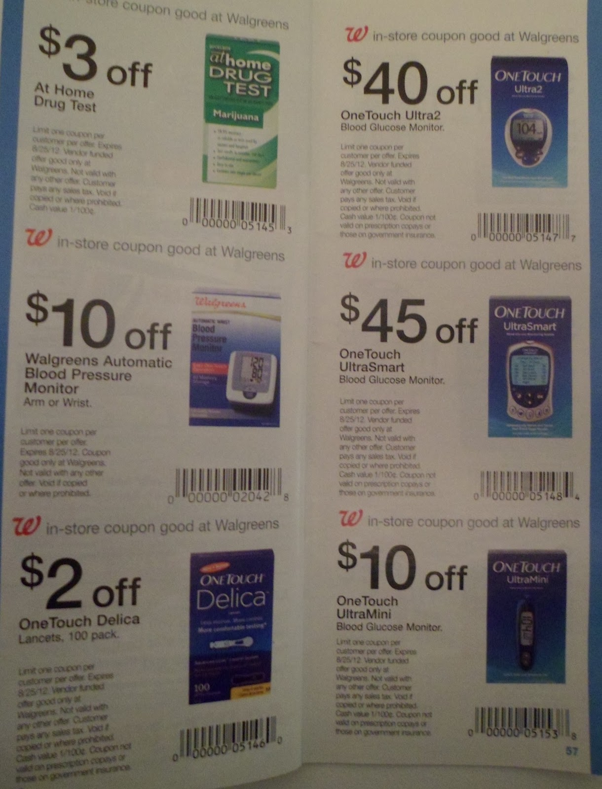Texas Savings Junkies: Walgreens August IVC Book Sneak Peek (monthly