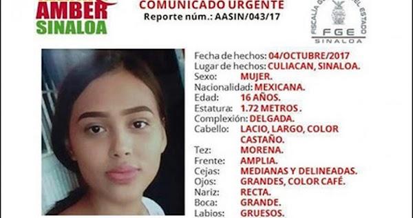 Encuentran cadáver de estudiante desaparecida en Sinaloa