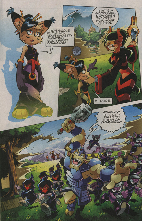 Read online Sonic The Hedgehog comic -  Issue #208 - 7