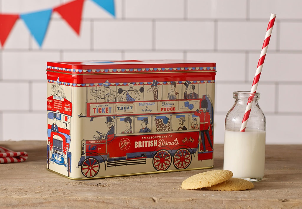 Inspirasi Desain Kemasan Packaging - Mr Stanley's Victorian British Biscuits