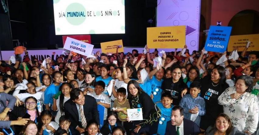 UNICEF ratifica apoyo a Perú por asegurar derechos de niñez y adolescencia - www.unicef.org