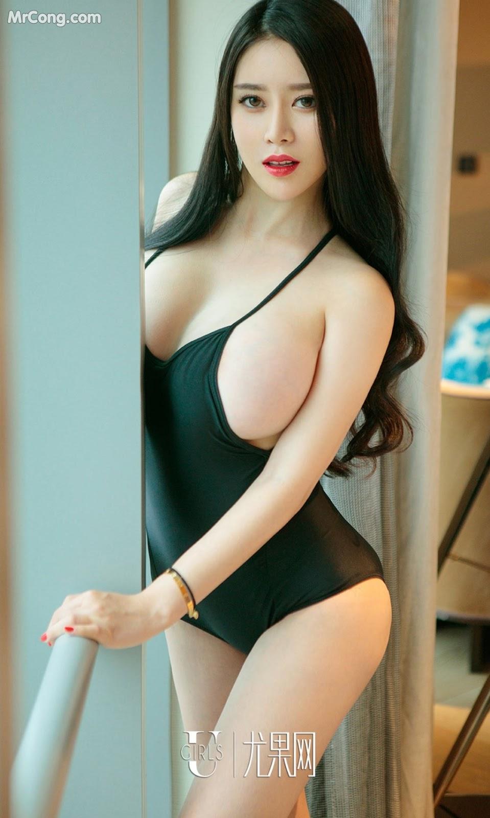 Image UGIRLS-Ai-You-Wu-App-No.901-Dai-Nuo-Xin-MrCong.com-001 in post UGIRLS – Ai You Wu App No.901: Người mẫu Dai Nuo Xin (黛诺欣) (40 ảnh)