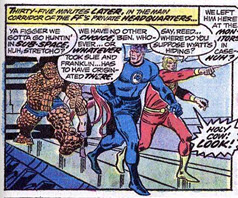 Fantastic Four 140 Negative Zone