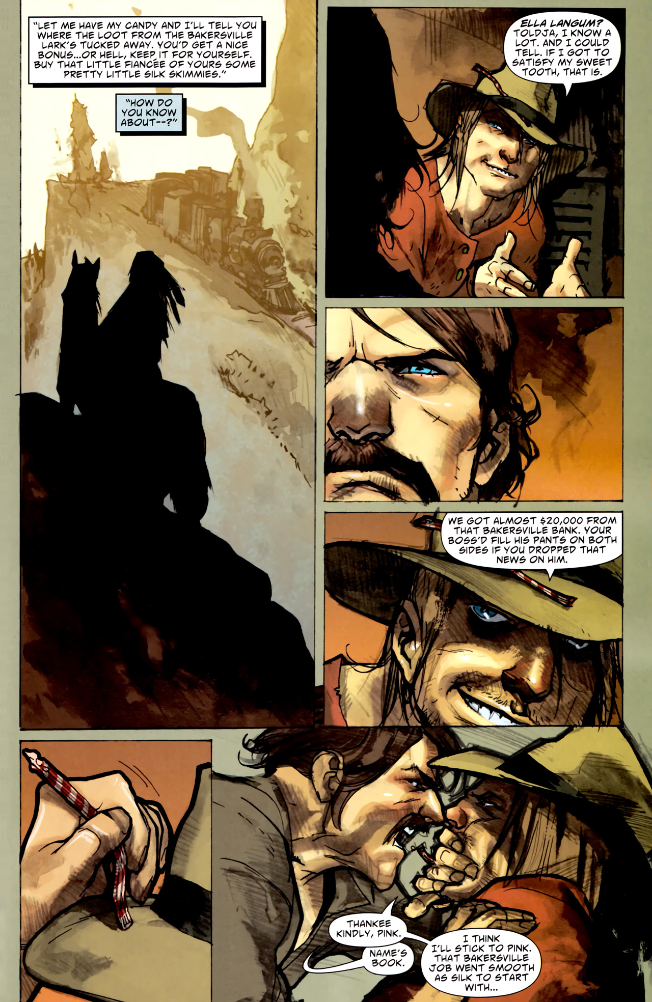 Read online American Vampire comic -  Issue #1 - 23