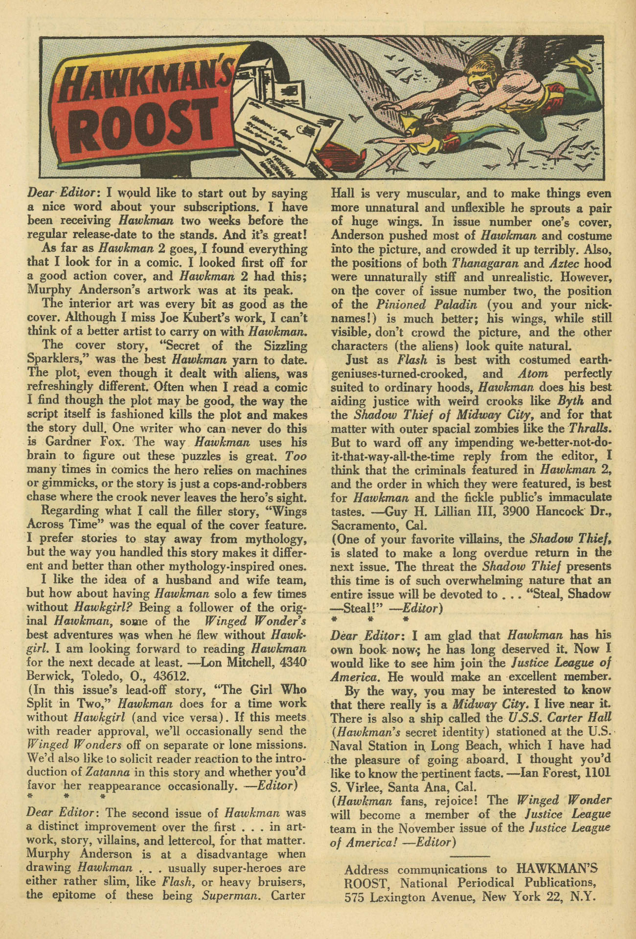 Hawkman (1964) issue 4 - Page 18