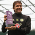 Antonio Conte breaks record, wins 3rd consecutive EPL manager Of the month award