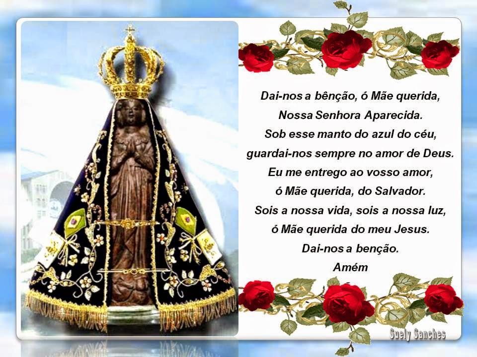 Nossa Senhora Aparecida Nossa Senhora De Fatima: CANTINHO DE NOSSA SENHORA: NOSSA SENHORA APARECIDA
