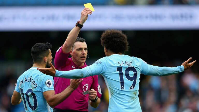 Yellow-Card Bans In Premier League