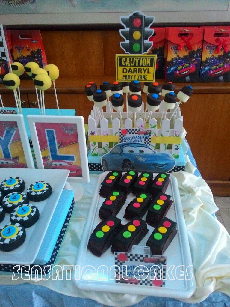The Sensational Cakes Cars Theme Dessert Table Singapore