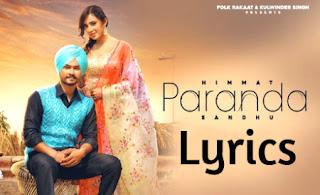 Paranda-Song-Lyrics-Himmat-Sandhu-Desi-Crew