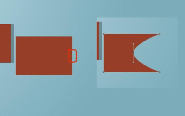 efek retro, teks retro, tutorial teks efek