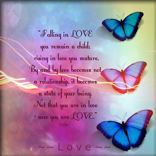 You Are Falling Love