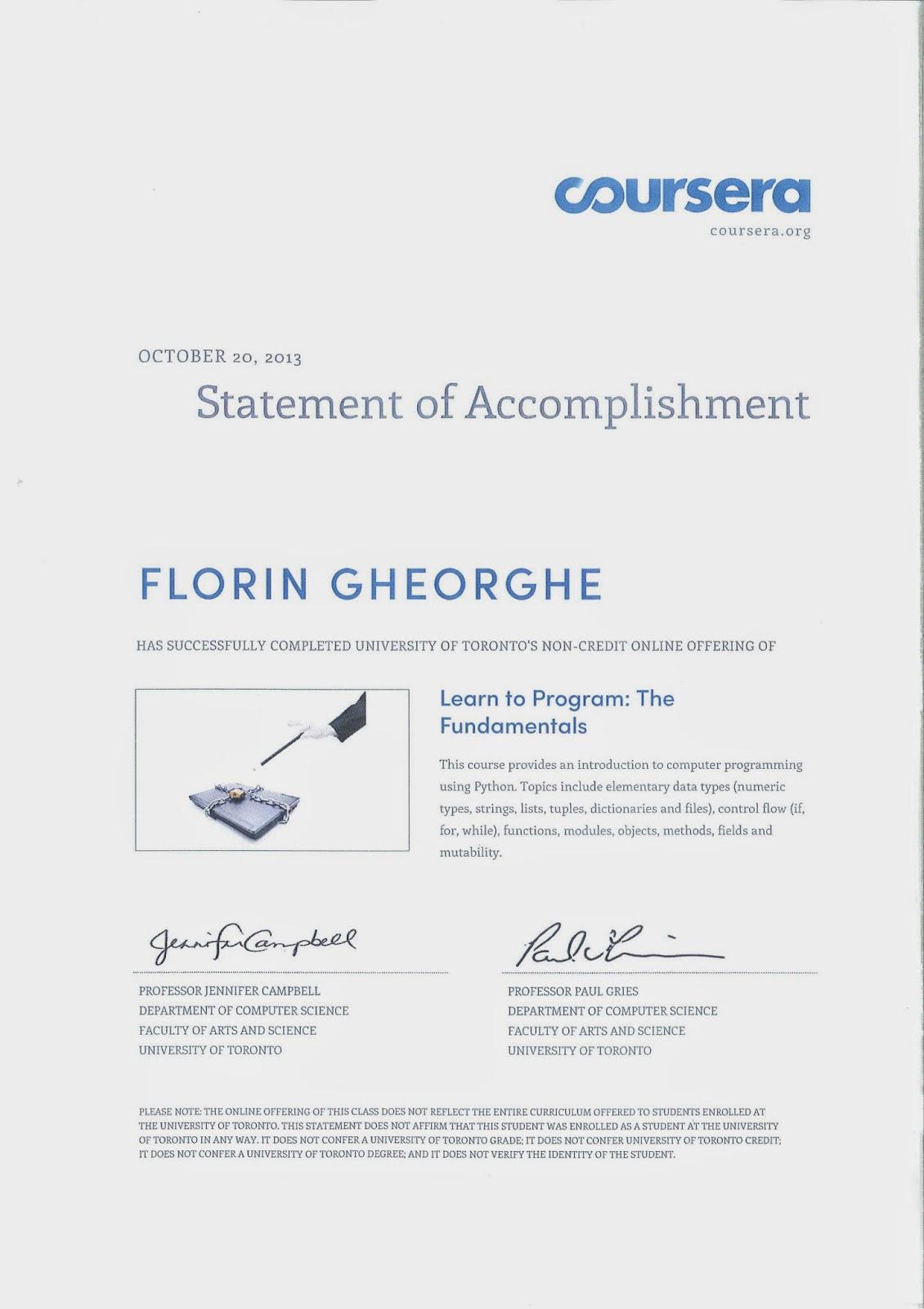 Certificates ~ FLUID DYNAMICS AND MATHS