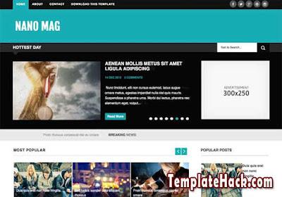 nano mag blogger template