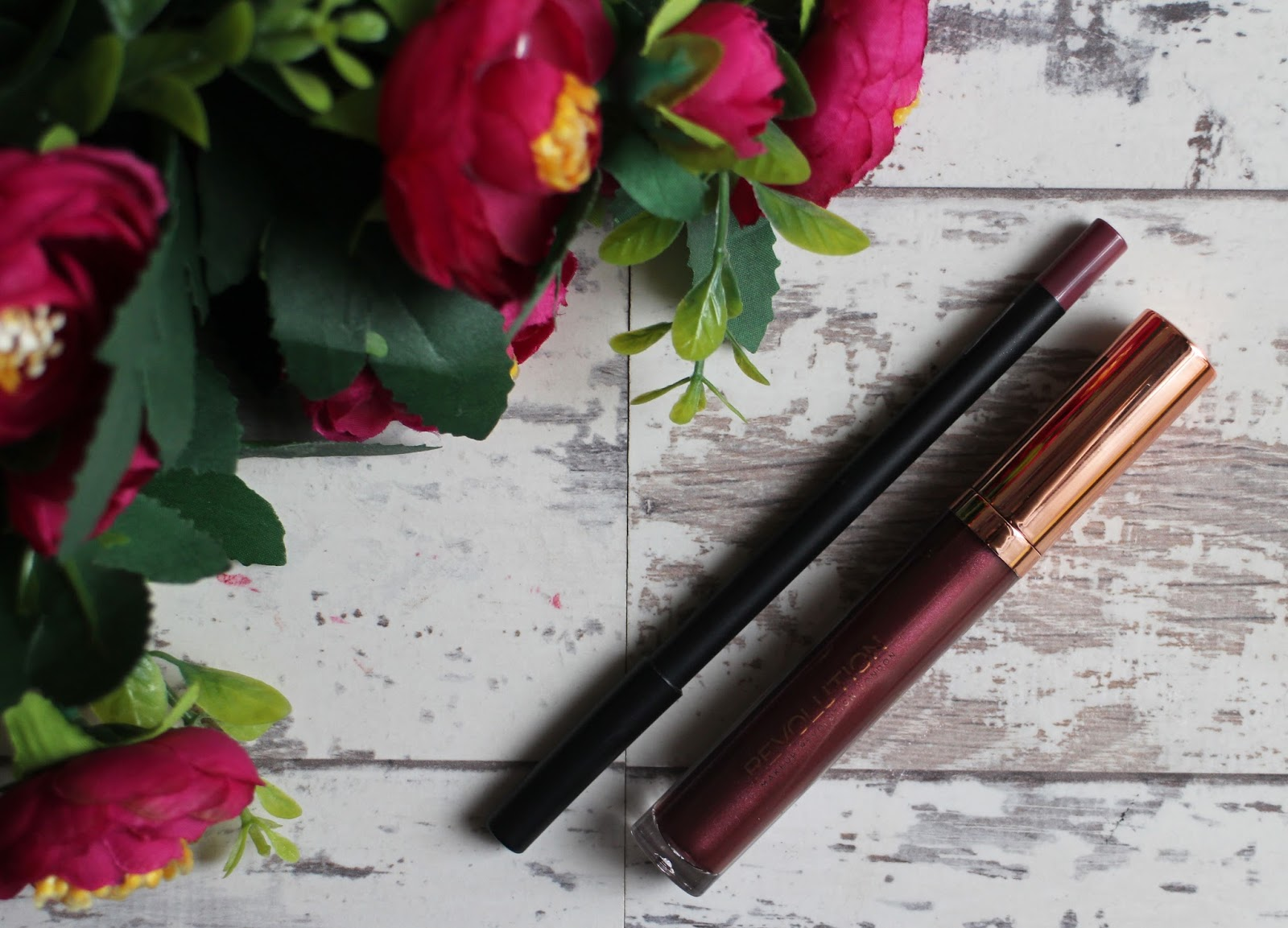 Metallic Lip Kits Feat. Barry M & Make Up Revolution