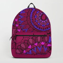 Boho mandala backpack