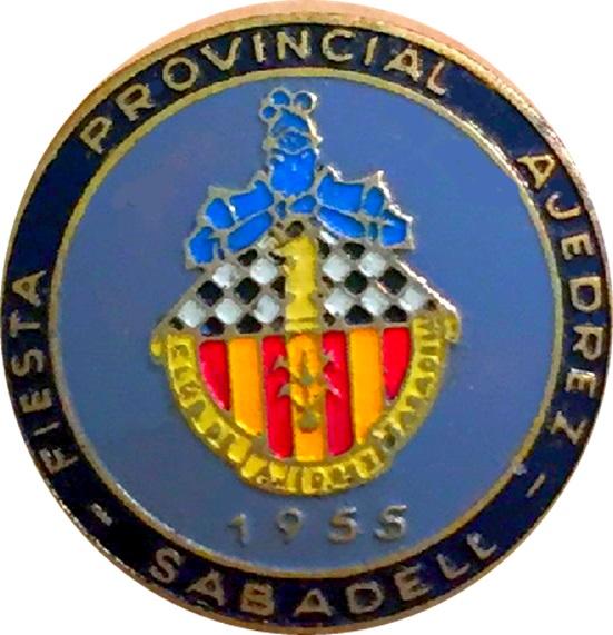 Emblema del Club d'Escacs Sabadell