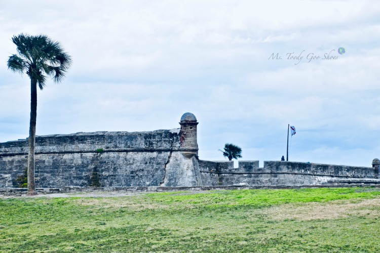 Castillo de San Marcos - One of 8 Things To Do in St. Augustine, Florida | Ms. Toody Goo Shoes