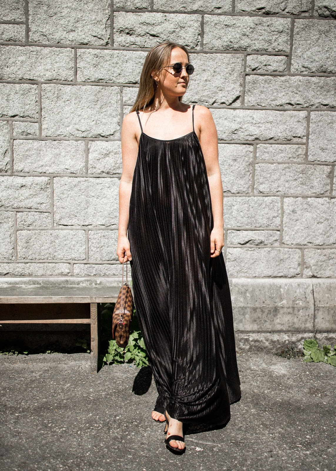 Wedding attire - Pleated maxi dress - In My Dreams - Vancouver Fashion Blogger
