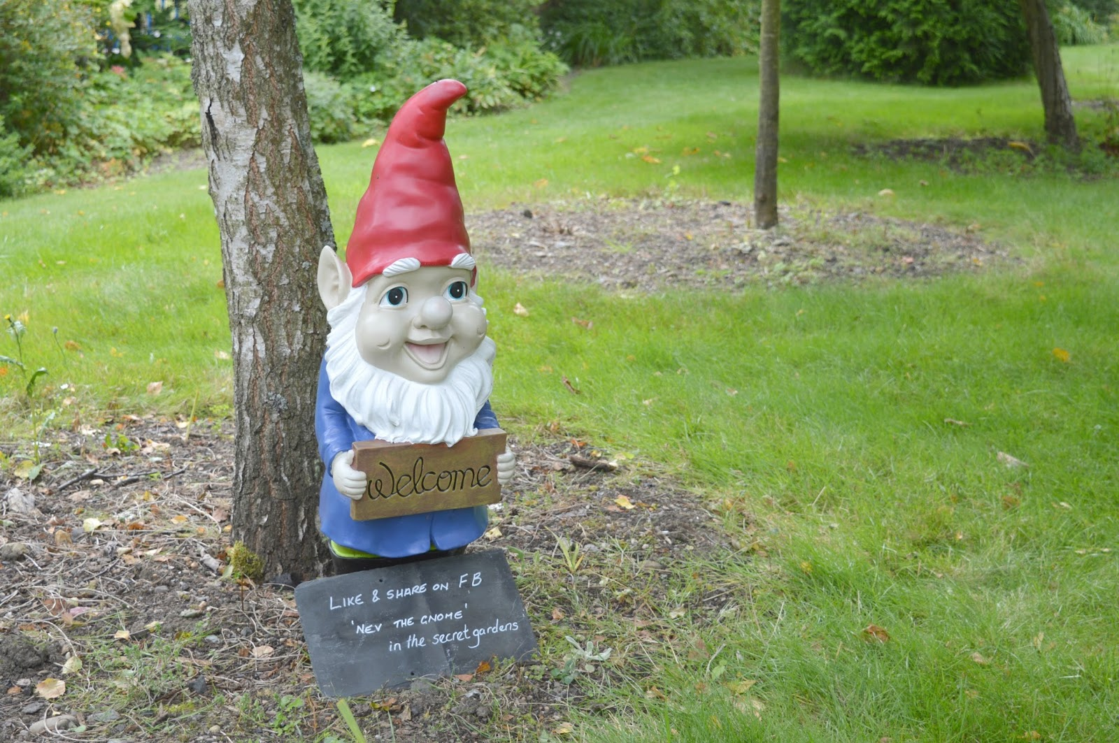 Gateshead's Great Outdoors - Birkheads Secret Gardens Nev the Gnome