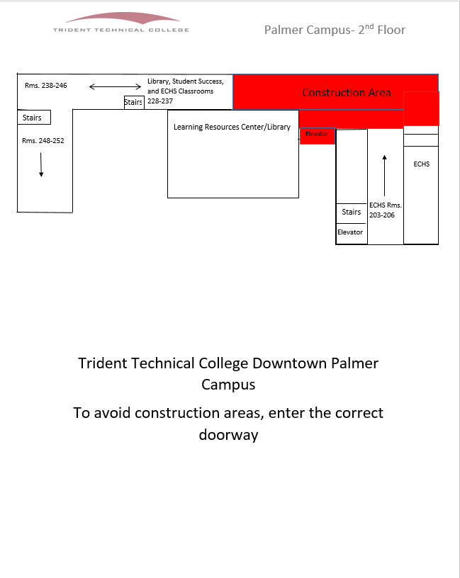 Trident Tech Downtown How To Find Your Way Around Construction